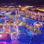 ハウステンボスの花と光の王国イルミネーション世界最大の絶景?