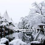 雪の日本庭園は水墨画のような美しさ!冬だからこそ行きたい日本庭園7選