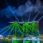 シンガポールでロマンティックな夜を♪まるでSFショーみたいな「ワンダー・フル」