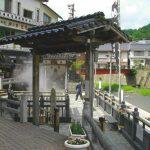湯村温泉でリラックス。平安時代から続く、閑静な湯治場