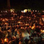 京都嵐山の奥にある化野念仏寺!夏の千灯供養と秋の紅葉は必見!