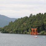 湖にたつ鳥居!箱根にある「平和の鳥居」について