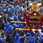 深川八幡祭のみどころまとめ!江戸三大祭りの1つで水掛け体験。