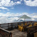 雲海に包まれた天空カフェ「SORA terrace」が別世界!神様に出逢えそう…
